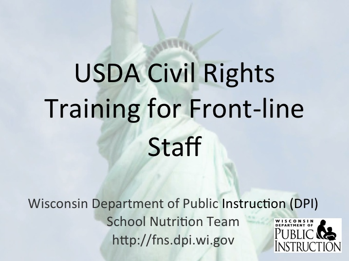 WI Civil Rights Training